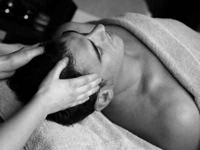 Масссаж для волос