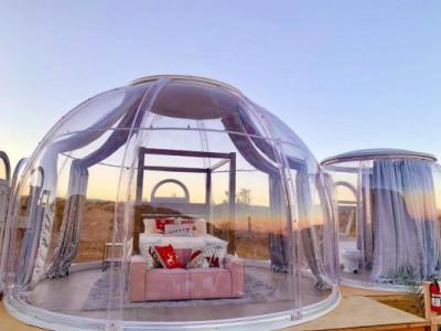 Полюбуйтесь звездами из роскошного пузыря в Калифорнии