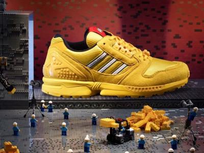 Adidas Originals анонсировал кроссовки Lego ZX 800 Brick's
