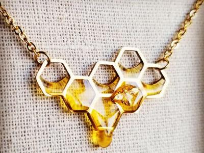 Ювелирные украшения, вдохновленные медом, от бренда Charming Little Fox